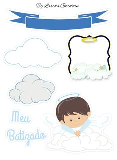 3d Sheets, Cartoon Photo, Baby Album, Felt Crafts, Scrapbooks, Christening, Silhouette Cameo, Diy Gifts, Cake Toppers