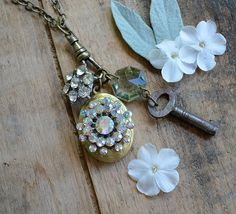 Necklace with key