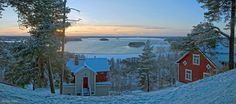 Pyykkipuisto Pispala in Tampere Finland. Helsinki, Blessed, Lighthouses, World, Winter, Places, Pretty, Nature, Travel
