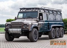 Land Rover 8x8