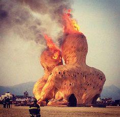 burning man male nude