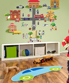 Look what I found on #zulily! Peel & Learn Heroes Wall Play Set by Mona MELisa Designs #zulilyfinds