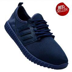 New York Sneakers Kurt Men's Rubber Shoes((NAVY BLUE) Rubber Shoes, Adidas Sneakers, Navy Blue, Pairs, Men, Fashion, Moda, Fashion Styles, Guys