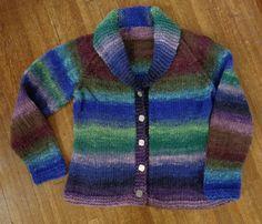 Nevis by Kim Hargreaves knit in Noro Hitsuji by Deborah Cooke
