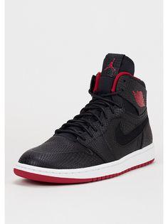 JORDAN Basketballschuh Air Jordan 1 Retro High Nouveau black/gym red/white