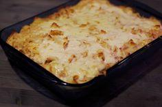 Sonkás tészta maradék húsvéti sonkából Hungarian Recipes, Lasagna, Macaroni And Cheese, Food And Drink, Ethnic Recipes, Mac And Cheese, Lasagne