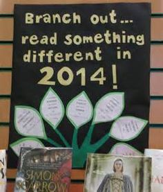 Branch out - nice tag line.