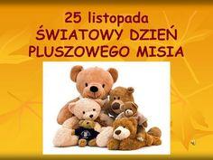 Czy to jutro, czy to dziś- - ppt pobierz Brown Bear, Excercise, Kindergarten, Teddy Bear, Education, Funny, Animals, Tattoos, Frases