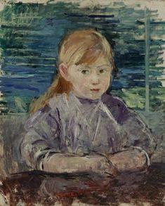Berthe Morisot - Fillette en Mauve 1883