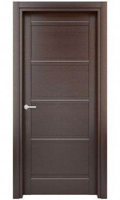 New Interior Doors Flush Door Design, Single Door Design, Wooden Front Door Design, Door And Window Design, Bedroom Door Design, Door Design Interior, Wooden Front Doors, Wood Doors, Home Design