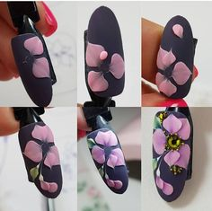 """Visit our internet site for additional relevant information on """"acrylic nail art designs gallery"""". It is actually an excellent location to learn more. 3d Nail Art, 3d Acrylic Nails, Acryl Nails, 3d Nail Designs, Nail Art Designs Videos, Cute Acrylic Nail Designs, 3d Flower Nails, 3d Rose, Christmas Nail Art"""