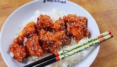 OMG: a kínai gyorsbüfék szezámos csirkéje Kfc, Tandoori Chicken, Chicken Wings, Main Dishes, Bacon, Recipies, Food And Drink, Appetizers, Meat