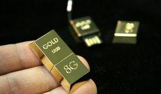 24K Gold USB Drive: $870