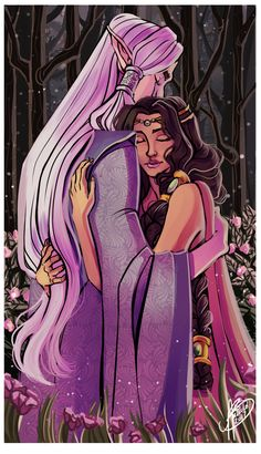 Of Thingol and Melian by naomi-makes-art73