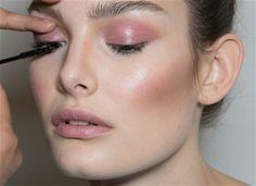 Makeup at Diane von Furstenberg Fall 2014