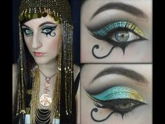"Katy Perry ""Dark Horse"" Inspired Egyptian Make Up - YouTube"