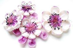 kanzashi flower------------Karuna Balloo