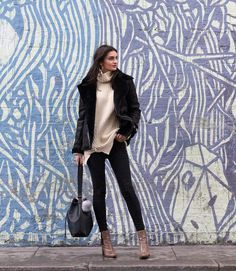 ankle boots asos aviator jacket bucket bag fashion h&m leigh jeans missguided rebel london roll neck snake print topshop
