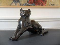 Magnifique Chat EN Faience ART Deco 1930 DAX Lemanceau   eBay
