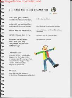 Top 40 Beispiele für Büttenpapier-Events - Everything About Kindergarten Kindergarten Portfolio, Kindergarten Songs, Finger Plays, Kids Songs, Kids And Parenting, Kids Playing, Literacy, Preschool, Language