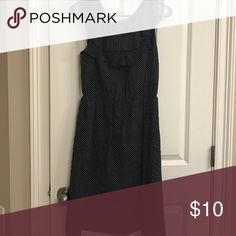 Dress Black and white poke a dot dress great condition Dresses Mini
