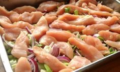 Thai chicken fillet in oven à la la stuhaug Asian Recipes, Real Food Recipes, Cooking Recipes, Healthy Snacks, Healthy Eating, Healthy Recipes, Scandinavian Food, English Food, Diet Meal Plans