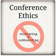 Part two of my series on conference ethics! What to do if you are a sponsored blogger at a conference, or an individual (not a blogger) repping a company.