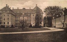 Pförten Brody, Schloss und nördliches Kavaliershaus