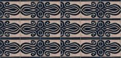 Moroccan Hand Chiseled Tile - CHT004,  http://www.badiadesign.com/moroccan-hand-chiseled-tile-cht004