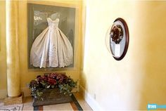 Wedding Dress Frame: Because you shouldn't hide your wedding dress in the back of a closet.