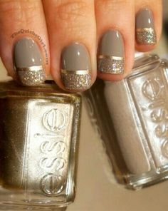 Gold or Silver Nail polish