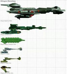 Klingon Ships