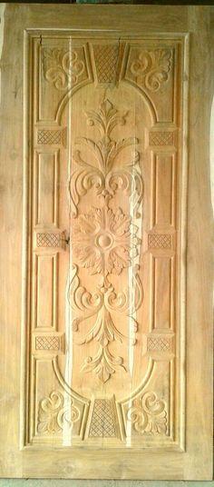 New Door Design, Single Door Design, Front Door Design Wood, Wooden Door Design, Interior Door Styles, Modern Wooden Doors, Wooden High Chairs, Wood Carving Designs, Single Doors