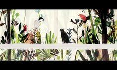 Les poings sur les iles de Sang Hyun. Video Vimeo