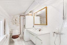 Una casa de vacaciones que mezcla una base rústico con muchos destellos de estilo nórdico.