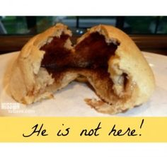 We make this Resurrection Rolls recipe every year at Easter.  It's a fun and meaningful way to teach kids about the real meaning of Easter.
