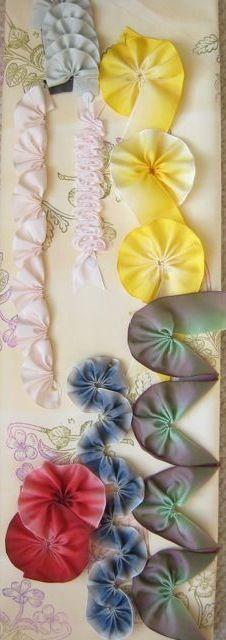 Candace Kling Ribbon Flowers Class