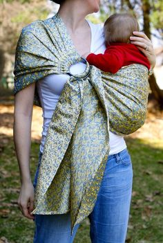 More boy friendly baby sling