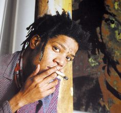 Jean Michel Basquiat~artist of gold Jean Michel Basquiat Art, Jm Basquiat, Basquiat Artist, Andy Warhol, New York City, Radiant Child, Neo Expressionism, Whitney Museum, Life Magazine