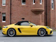 Boxster Spyder, Porsche 718 Boxster, Porsche Yellow, Corvette Summer, Porsche Sports Car, Luxury Suv, Dream Cars, Automobile, Audi