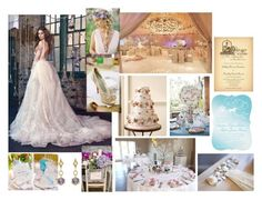 """Fairy Tale Wedding mood board"" by weddingdesignchic-com ❤ liked on Polyvore featuring By Charlotte, women's clothing, women, female, woman, misses, juniors, fairytale, fairies and weddings"