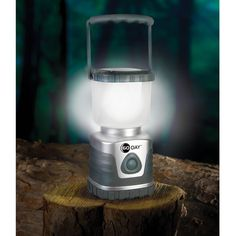 The 60 Day Lantern - UST has a hook on the bottom to act like a light above.  the lamp shade can come off to be used on the table area light.  $60