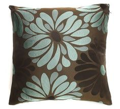 Harewood Chocolate/Teal 17 Cushion Cover by Textiles Direct, http://www.amazon.co.uk/dp/B0019KDMQO/ref=cm_sw_r_pi_dp_ih6Orb19WQDZ0