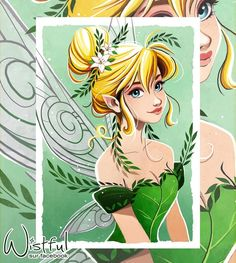 Tinkerbell by Wistful Art