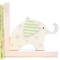 {Sweet & Pink!} New Arrivals Book Ends Pink Elephants from @Layla Grayce #laylagrayce #new #children