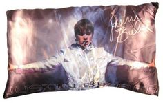 Justin Bieber Sings In Concert Decorative Pillow $22.99....<33333
