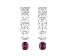 Ruby Jewelry, India Jewelry, High Jewelry, Luxury Jewelry, Diamond Jewelry, Gemstone Jewelry, Emerald Necklace, Ruby Earrings, Louis Vuitton Jewelry