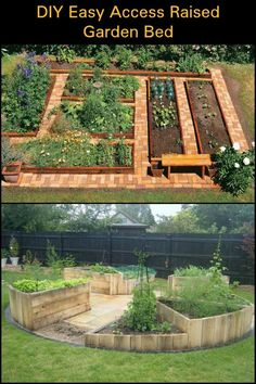 Raised garden beds are good for your back. You can take care of your garden without worrying about your back. Learn how to make one here.