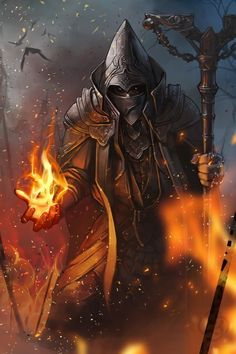 a mysterious faithful Dark Order member, able to bend fire at will. Unknown to the house what kind of magos he is because he has the Cloak of Illusion. This rare item is later stolen from him by Kevin.