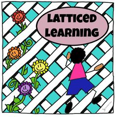 """Looking for something a little offbeat to do during your """"school"""" time with your toddler?  Come see what Latticed Learning is all about!   #latticedlearning"""